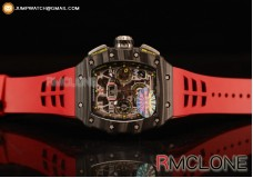 RICHARD MILLE RM011-03 SKELETON LIMITED EDITION CF/RED